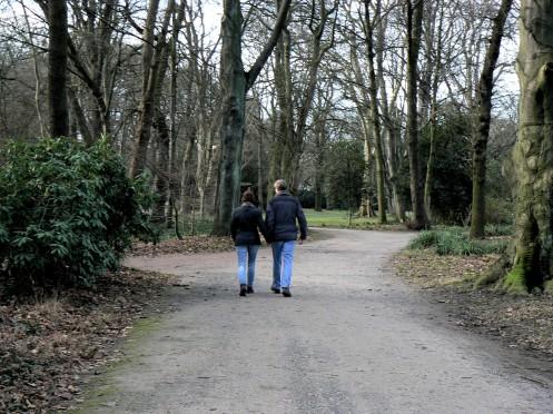 Đó cũng là nơi đi dạo của những cặp tình nhân ...