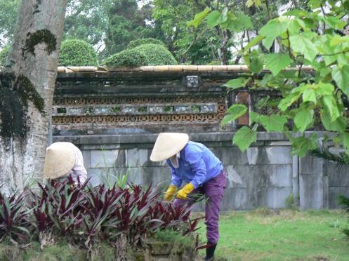 săn sóx hoa trong Đại nội