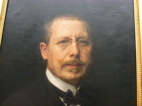 L'auto portrait du peintre