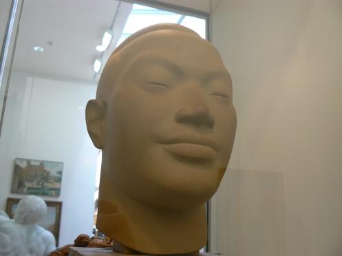Oh, surprise, le buste d'Anamite de Vu Cao Dam