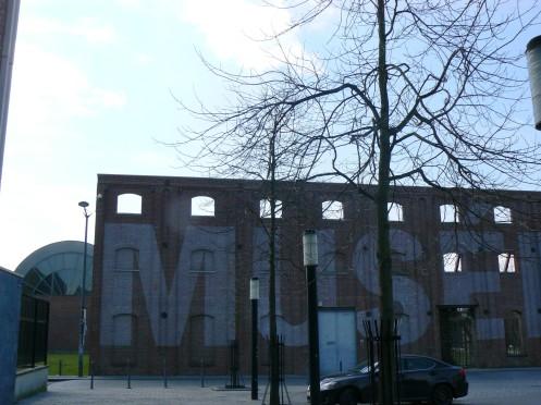 Mais nous sommes venus à Roubais pour visiter le Musée de la Piscine