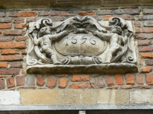 dans un château du 17e siècle
