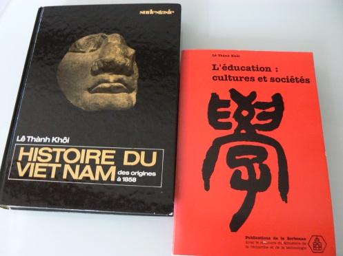 Lịch sử và giáo dục là hai trong những chuyên ngành của gs Lê Thành Khôi