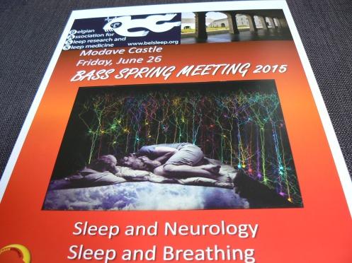 Áp phích của Hội nghị. Giấc ngủ và Thần kinh học. Giấc ngủ và thở.
