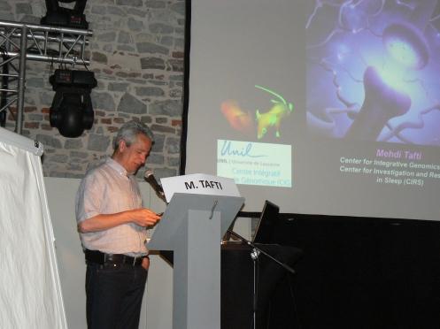 Le Professeur Mehdi Tafti, de l'Université de Lausanne, apporte la richesse de ses recherches depuis trente ans...