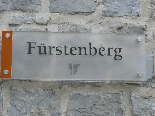 Salle Furstenberg du nom d'une famille princière du XIIIe s.