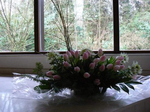 Un dernier bouquet pour tante Germaine ...