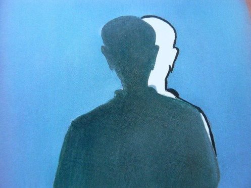Tranh (chi tiết, của Roger Raveel,1993) - chụp lại bởi M. Poirrier