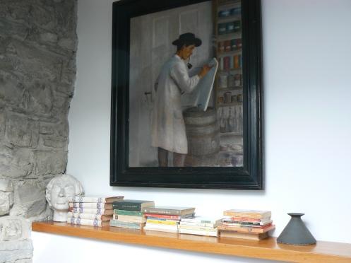 Kệ sách phòng tôi, ...vứi một bức tranh của thễ kỷ 17