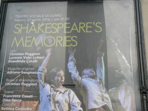 Tối nay, tôi đi xem Opera diễn Shakespeare, bằng tiếng Ý