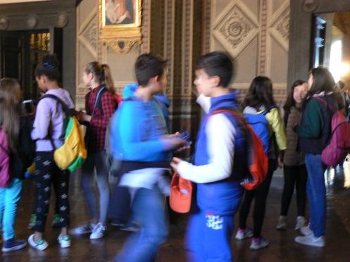 Học trò đến đây để tiếp cận lịch sử của thành phố