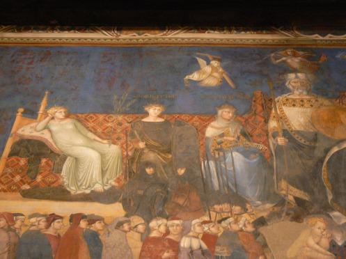 Cận cảnh tranh này là ở đây, vẽ từ thế kỷ thứ XIV