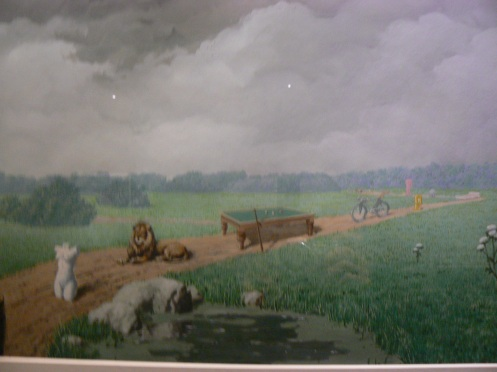 Một bức khác của René Margritte, một danh họa người Bỉ, lúc ông chưa vẽ siêu thực