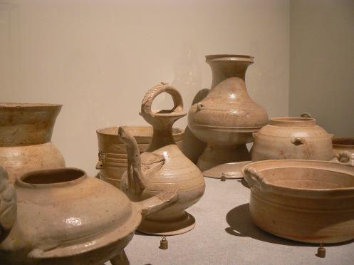 Xưa hơn, sứ tráng men, thời Giao chỉ, thế kỷ I-III
